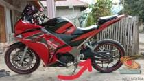 Modifikasi Honda Supra Fit full fairing kayak motor sport brosis (6)
