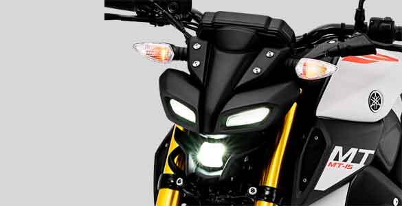 gambar lampu depan Yamaha MT-15 tahun 2019