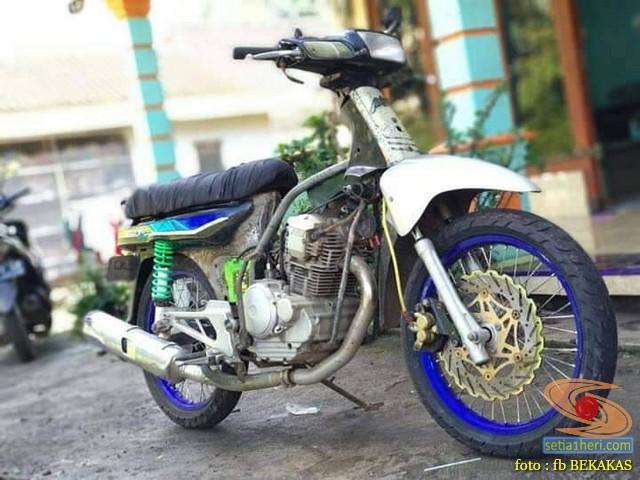 modifikasi swap engine motor bebek