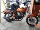 Kumpulan foto modifikasi sepeda motor salah pergaulan ...eh swap engine maksudnya brosis.. (4)