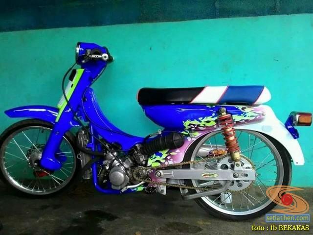 Kumpulan foto modifikasi sepeda motor salah pergaulan ...eh swap engine