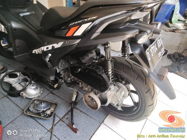 Tips ringan atasi error dan gangguan untuk motor Yamaha Aerox 155 VVA