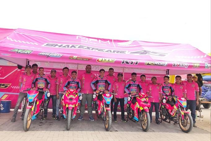 Formasi Tim Balap MPM untuk Kejuaraan Balap 2019 di NTT dan Jawa Timur