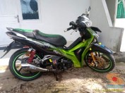 Kumpulan gambar modifikasi sepeda motor pakai piringan cakram besar brosis (12)