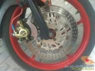 Kumpulan gambar modifikasi sepeda motor pakai piringan cakram besar brosis (4)
