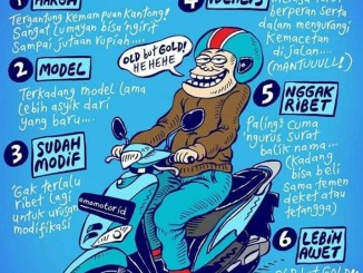 7 alasan beli motor bekas, benerkah