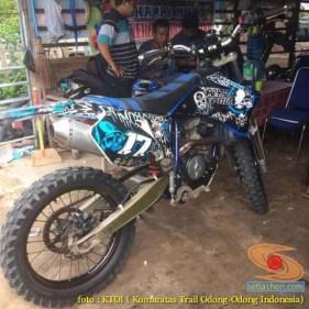 Kumpulan foto motor trail odong-odong basic Yamaha Scorpio (16)