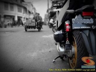Kumpulan modifikasi shock belakang Honda Vario 125 dan 150 tahun 2018 (9)