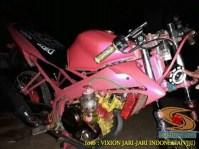 Kumpulan gambar Modifikasi tabung reservoir coolant pada sepeda motor pakai botol parfum gans.. (23)