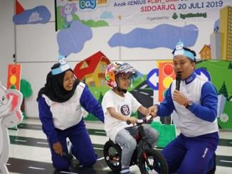 Meriahkah Hari Anak Nasional, MPM Honda gelar edukasi keselamatan berkendara bagi anak karyawan