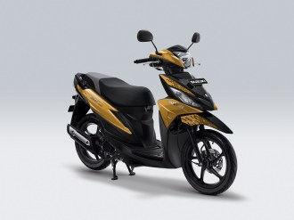 Pilihan Warna & Striping Baru Suzuki Address Playful tahun 2019 Playful 2 MajesticGold