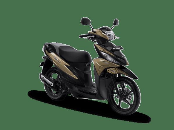 Pilihan Warna & Striping Baru Suzuki Address Playful tahun 2019