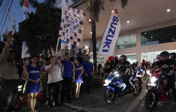 Suzuki Saturday Night Ride goyang Makasar brosis