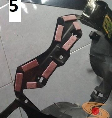 Tips dan trik meredam suara getaran pada bodi sepeda motor (2)