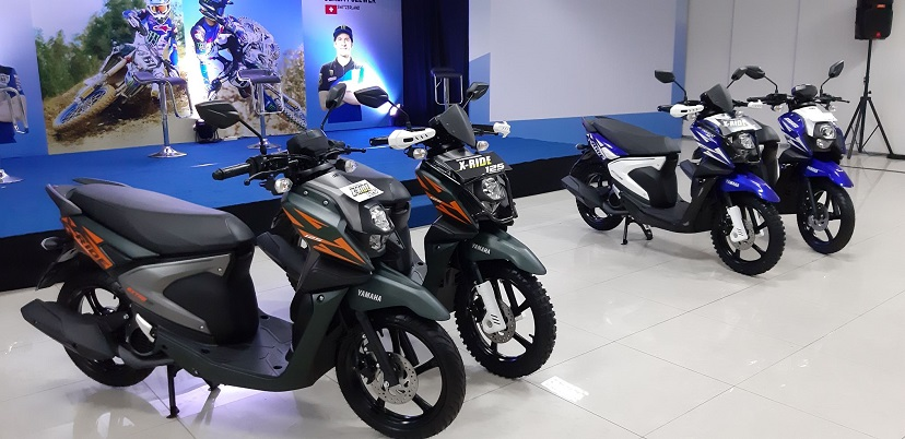 X-ride Racing Blue dan X-ride Extreme Green