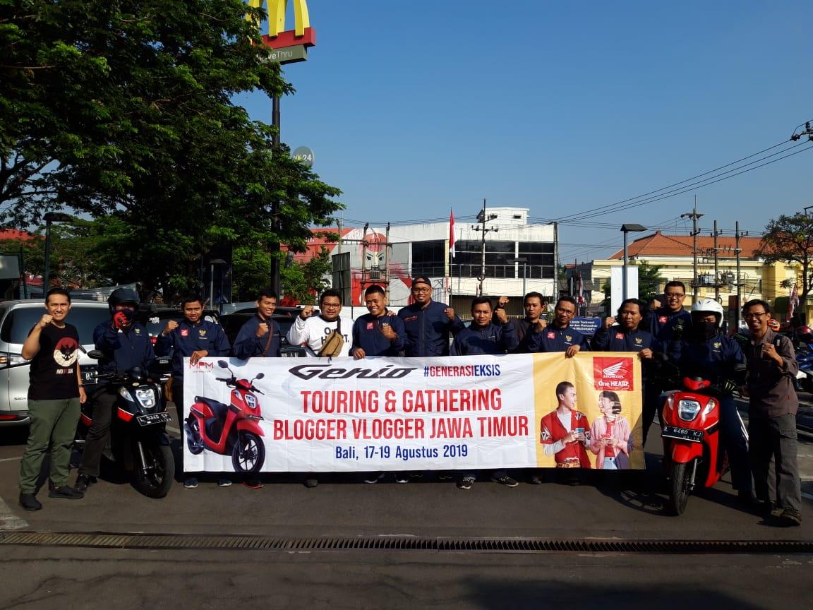 Blogger Vlogger Jawa Timur gathering di Bali bersama MPM Honda Jawa Timur (9)