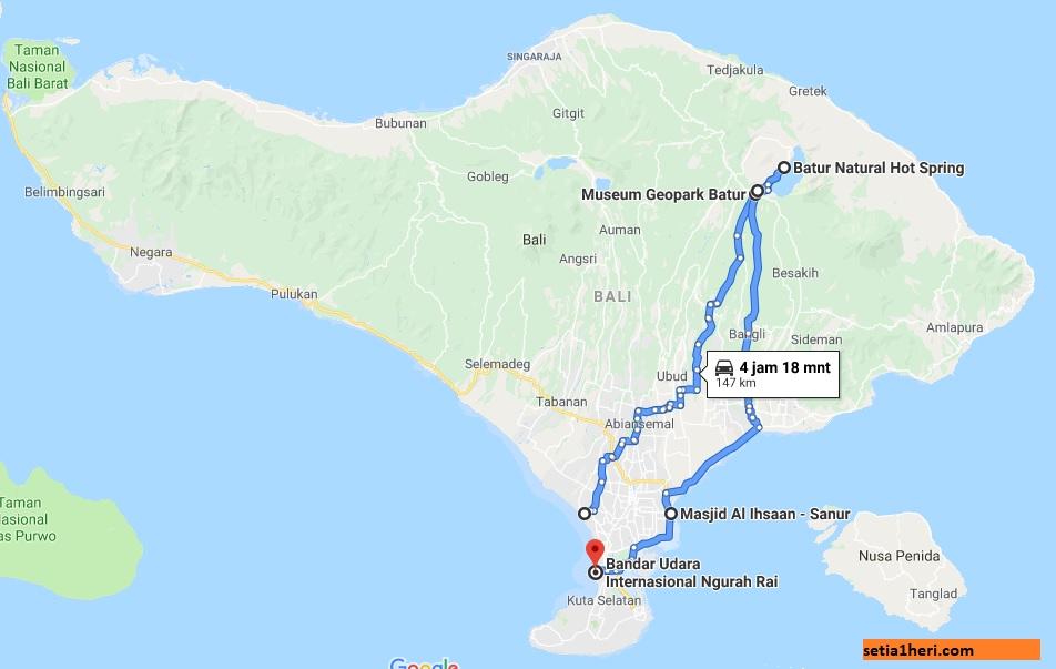 Hari ke-3 di Bali, menikmati alam di Taman Nasional Geopark Gunung Batur, Kintamani
