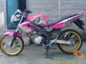 Kumpulan gambar modifikasi Yamaha Vixion warna pink brosis (2)
