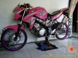Kumpulan gambar modifikasi Yamaha Vixion warna pink brosis (6)