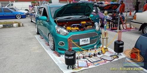 Modifikasi ganteng Daihatsu Ayla asal Malaysia brosis (1)