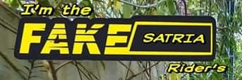 Stiker biker : fakesatria atau pakesatria ...hehehe (diskusi ringan)