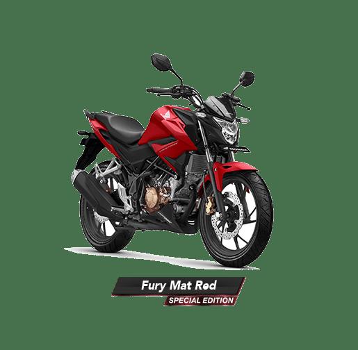 Warna Honda CB150R StreetFire tahun 2019