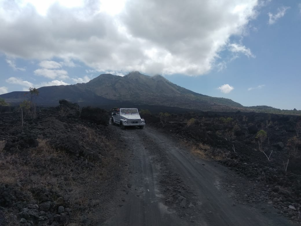 wisata black lava batur bali