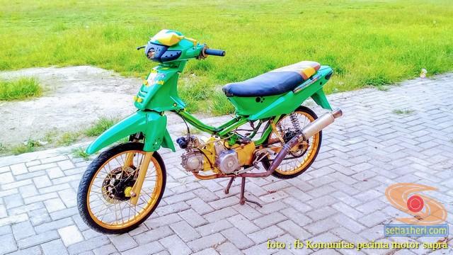 Kumpulan Foto Modif Honda Supra X Brosis Setia1heri Com