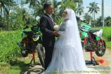Kumpulan foto romantisme anak motor trail maupun prewedding biker (58)