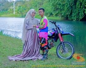 Kumpulan foto romantisme anak motor trail maupun prewedding biker (6)