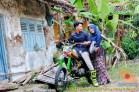 Kumpulan foto romantisme anak motor trail maupun prewedding biker (9)