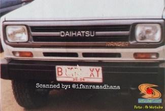 Mengenal motuba Daihatsu Taft GT Ranger (6)