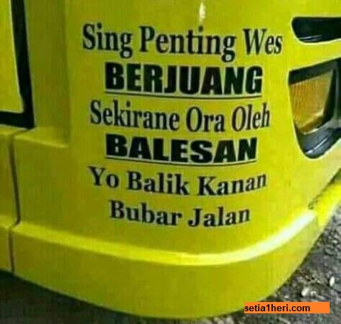 kumpulan quotes truck lovers indonesia