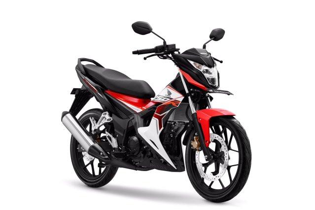4 Pilihan Warna dan stripping New Honda Sonic 150R tahun 2019