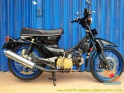 Modifikasi Kawin silang Honda Supra dan Honda C70 (4)