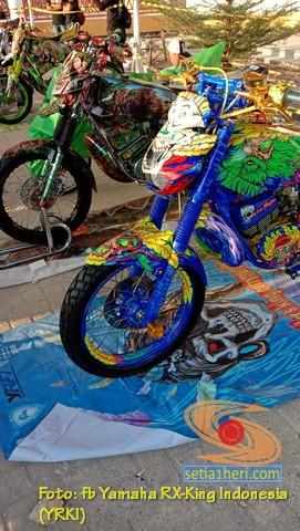 Ragam modifikasi dan paint brush Yamaha RX King, monggo diintips brosis (9)