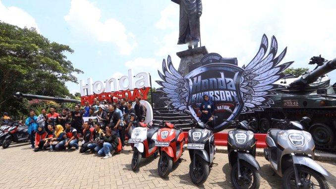 Honda Bikers Day HBD tahun 2019 di Ambarawa Jawa Tengah