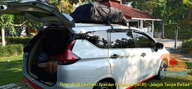 review kelebihan dan kekurangan roof box pada mobil xpander, monggo disimak gans.. (1)