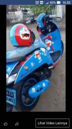 Kumpulan modifikasi sepeda motor livery doraemon (7)