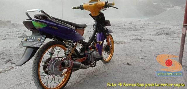 Modifikasi Honda Supra X lama alias Lawas brosis
