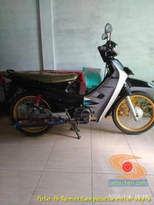 Modifikasi Honda Supra X lama alias Lawas brosis (7)