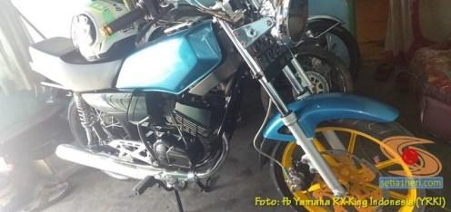 Modifikasi velg palang atau bintang pada Yamaha RX King (10)