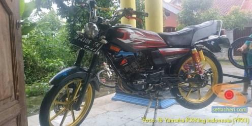 Modifikasi velg palang atau bintang pada Yamaha RX King (13)