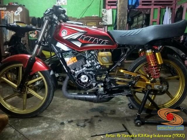 Modifikasi velg palang atau bintang pada Yamaha RX King (16)