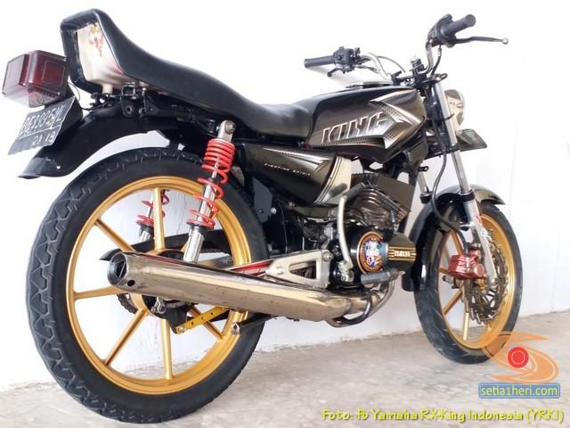 Modifikasi velg palang atau bintang pada Yamaha RX King (17)