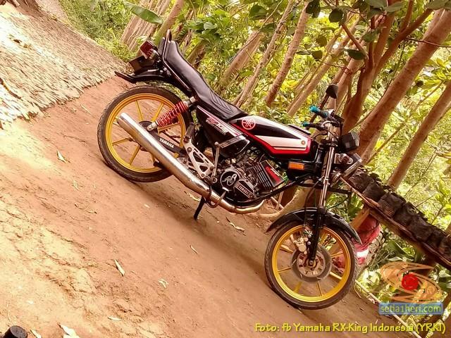 Modifikasi velg palang atau bintang pada Yamaha RX King (21)