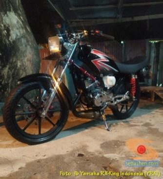 Modifikasi velg palang atau bintang pada Yamaha RX King (29)