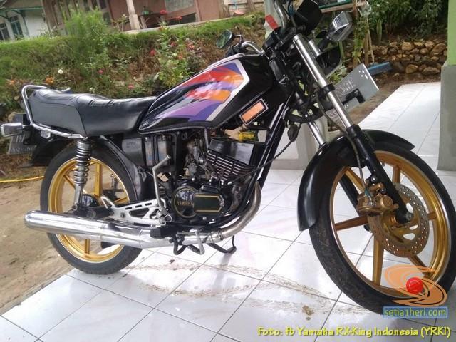 Modifikasi velg palang atau bintang pada Yamaha RX King (36)