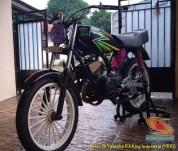 Modifikasi velg palang atau bintang pada Yamaha RX King