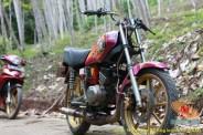 Modifikasi velg palang atau bintang pada Yamaha RX King (8)